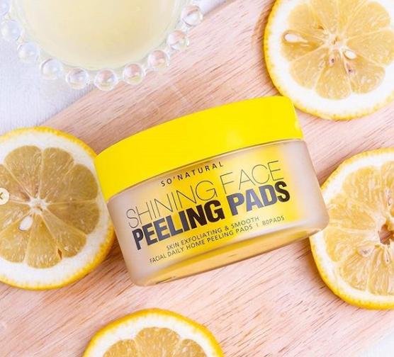 So Natural, Shining Face Peeling Pad